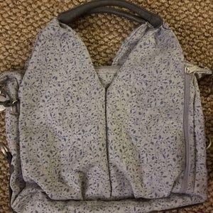 Lassig Green Label Allover Fleur Diaper Bag